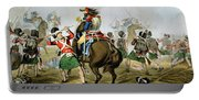 French Cuirassiers At The Battle Portable Battery Charger