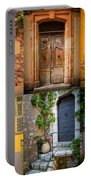 French Doors Portable Battery Charger by Inge Johnsson