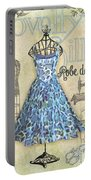 French Dress Shop-b Portable Battery Charger