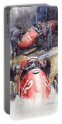 French Gp 1952 Ferrari 500 F2 Portable Battery Charger