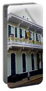 French Quarter Architecture Portable Battery Charger