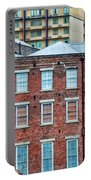 French Quarter Facades New Orleans Portable Battery Charger