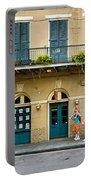 French Quarter Family Fun Portable Battery Charger