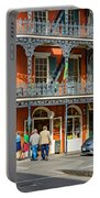 French Quarter Wandering 3 Portable Battery Charger