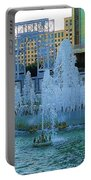 French Quarter Water Fountain Portable Battery Charger