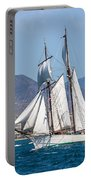 French Shooner Alicante Portable Battery Charger