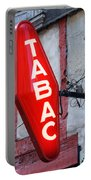 French Tobacconist Sign Portable Battery Charger