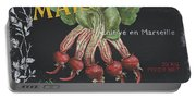French Veggie Labels 2 Portable Battery Charger