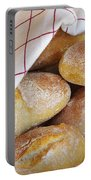 Fresh Bread Portable Battery Charger by Carlos Caetano