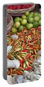 Fresh Chili Peppers Portable Battery Charger