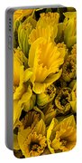 Fresh Daffodils  Portable Battery Charger