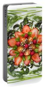 Fresh Fruit Salad Portable Battery Charger by Anne Gilbert