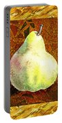 Fresh N Happy Pear Decorative Collage Portable Battery Charger