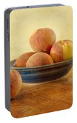 Fresh Peaches Portable Battery Charger