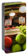 Fresh Pike Place Apples Portable Battery Charger