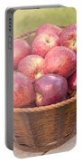 Fresh Red Apples Portable Battery Charger