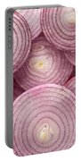 Fresh Red Onion Portable Battery Charger