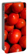 Fresh Ripe Red Tomatoes Portable Battery Charger