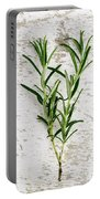 Fresh Rosemary Portable Battery Charger