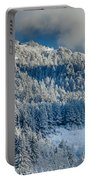 Fresh Snow On The Mountain Portable Battery Charger