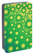 Fresh Tropical Bubbles Portable Battery Charger