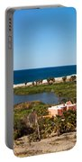 Fresh Water Lagoon At Playa La Poza Portable Battery Charger
