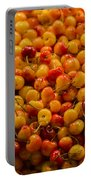 Fresh Yellow Cherries Portable Battery Charger