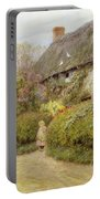 Freshwater Cottage Wc On Paper Portable Battery Charger