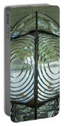 Fresnel Lens At Cape Blanco Lighthouse - Oregon Coast Portable Battery Charger