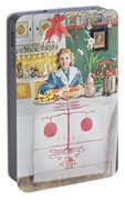 Friends From The Town - Dining Room Portable Battery Charger