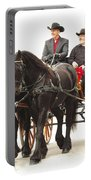 Friesian Carriage Portable Battery Charger