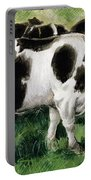 Friesian Cows Portable Battery Charger