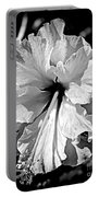 Frills And Hibiscus Flowers Portable Battery Charger