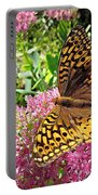 Fritillary On Meteor Portable Battery Charger