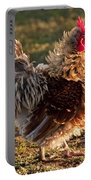 Frizzle Rooster Portable Battery Charger
