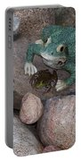Frogs Imitation And Real  Portable Battery Charger