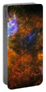 From The Darkness Portable Battery Charger by Jennifer Rondinelli Reilly - Fine Art Photography