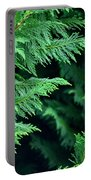 Fronds Of The Leyland Cypress Portable Battery Charger