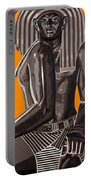 Front And Side Egyptian Pharoah Portable Battery Charger