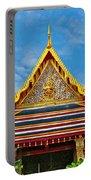 Front Of Royal Temple At Grand Palace Of Thailand In Bangkok Portable Battery Charger
