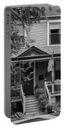 Front Porch Usa Black And White Portable Battery Charger
