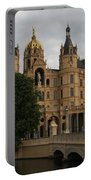 Front View Of Palace Schwerin Portable Battery Charger