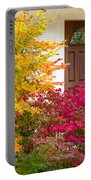 Front Yard Autumn Decor, Quincy California Portable Battery Charger