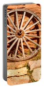 Frontier Wagon Wheel Portable Battery Charger