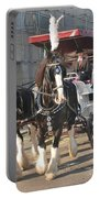 Frost Fair Horses Hastings Portable Battery Charger