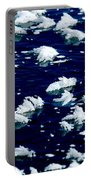 Frost Flakes On Ice - 05 Portable Battery Charger