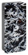 Frost Flakes On Ice - 07 Portable Battery Charger