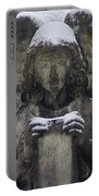 Frosted Stone Angel Portable Battery Charger