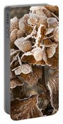 Frosted Hydrangea Portable Battery Charger