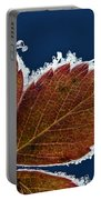 Frosted Leaf Portable Battery Charger